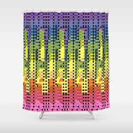 Things and Stuff Shower Curtain