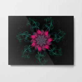 Rose Burst Metal Print