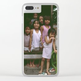 How Many Can We Squeeze into One Hut Clear iPhone Case