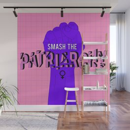 Smash the Patriarchy Wall Mural