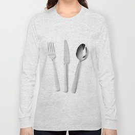 Fork, knife and spoon Long Sleeve T-shirt