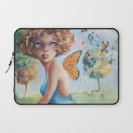 Amelia, Courage to Fly Laptop Sleeve