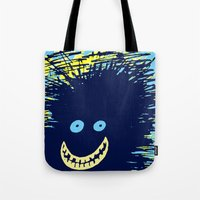 monster high Tote Bags featuring Monster by Take Five