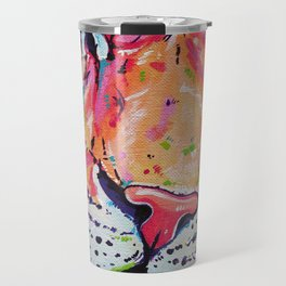A moment of peace - Tiger painting Travel Mug