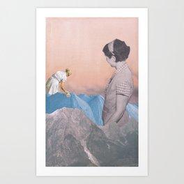 Like mother Art Print
