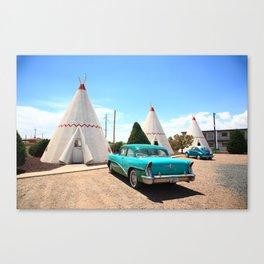 Route 66 Wigwam Motel 2012 Canvas Print