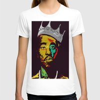 tupac T-shirts featuring Tupac's Back by Dazed N Amused