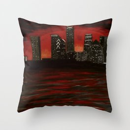 Leaves of Change Throw Pillow