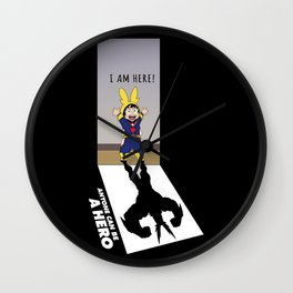 I Am Here! Wall Clock