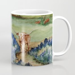 Just the Longhorns, Hanging Out Coffee Mug