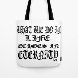 Story of Life Tote Bag