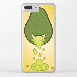 Taste Guacamole Clear iPhone Case