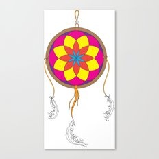 Dream Catcher Colour Canvas Print