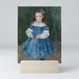 Girl with a Jump Rope (Portrait of Delphine Legrand) Mini Art Print