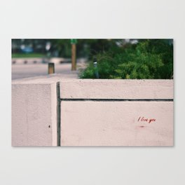 Thank You, Stranger. Canvas Print