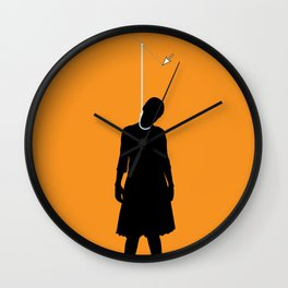 Death by Vector Wall Clock