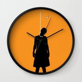 Death by Vector Wall Clock