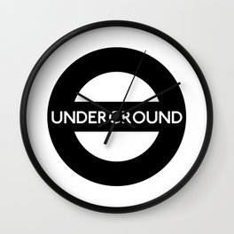 London Underground Sign Wall Clock