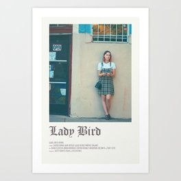 Lady bird poster Art Print