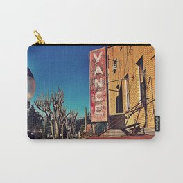 Vintage Vance Carry-All Pouch