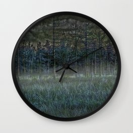 November mist- the time of souls Wall Clock