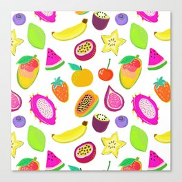 Fruit Punch Canvas Print
