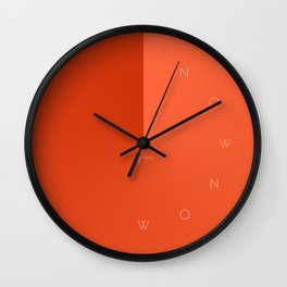 'Now Now' Wall Clock