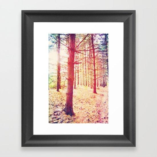 Fantasy in the Pines Framed Art Print
