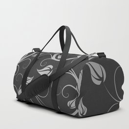 Floral Abstract Vine Art Print Design Duffle Bag