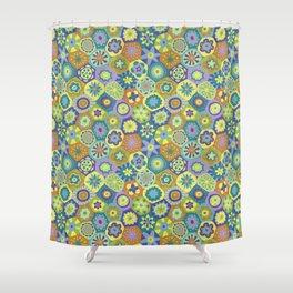Millefiori-Jardin Colors Shower Curtain