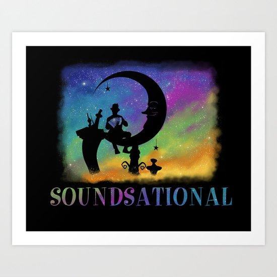 Soundsational Art Print