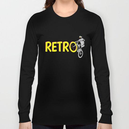 Retro Bike Long Sleeve T-shirt
