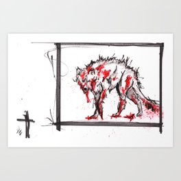 Nature is F*cking Metal 08 Art Print