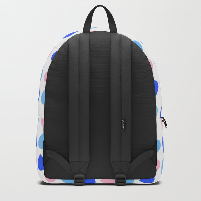 Colored Dropping Backpack
