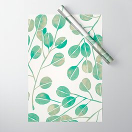 Silver Dollar Eucalyptus – Mint Palette Wrapping Paper