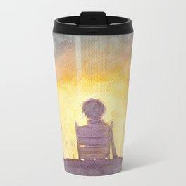 47 Sunsets Metal Travel Mug