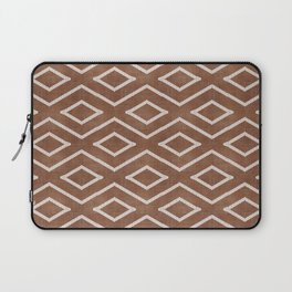 Stitch Diamond Tribal in Sienna Laptop Sleeve