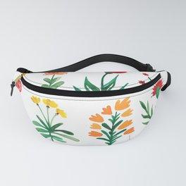 Wild flower pattern Fanny Pack