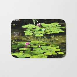 Lily Pads Bath Mat