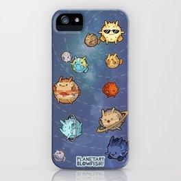 Planetary Blowfish iPhone Case