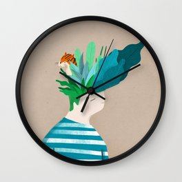 New Haircut Wall Clock