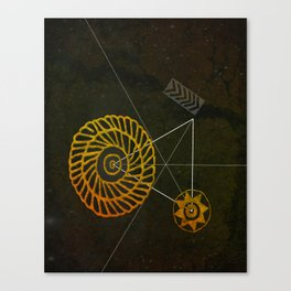 Looking for Ancestral Treasures Canvas Print