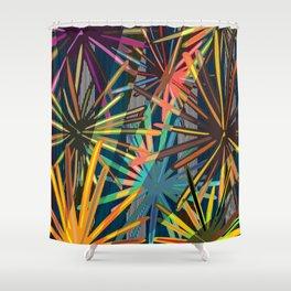 Big disco larch Shower Curtain