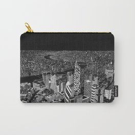 London in BW Carry-All Pouch