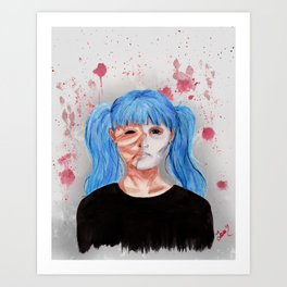 I Had No Choice Art Print