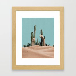Is There Life on Earth III Framed Art Print