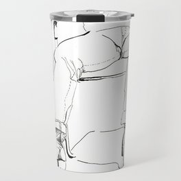 Dirty Black Boot Travel Mug