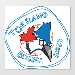 torrano beisbol birds Canvas Print