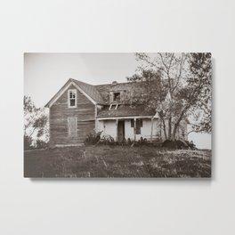 Abandoned Farmstead, North Dakota 7 Metal Print