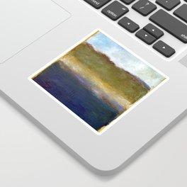 Abstract Dunes ll Sticker